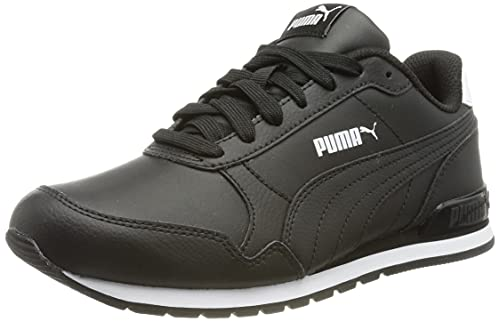 Puma Unisex St Runner V2 Full L Sneaker, Black Black, 39 EU