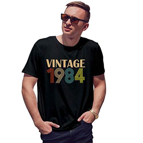 Lapi Boutique Vintage 1984 35 Birthday Gift Camiseta de Hombre