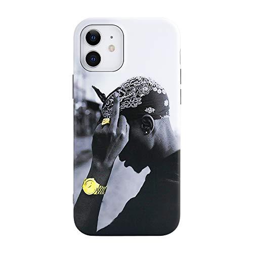 Vintage Rapper iPhone Hülle kompatibel Full Protective Luxus Hard Case Premium Qualität Silikon TPU Fashion Designer Case (iPhone 11)