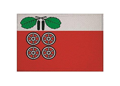 U24 Aufnäher Barsbüttel Fahne Flagge Aufbügler Patch 9 x 6 cm