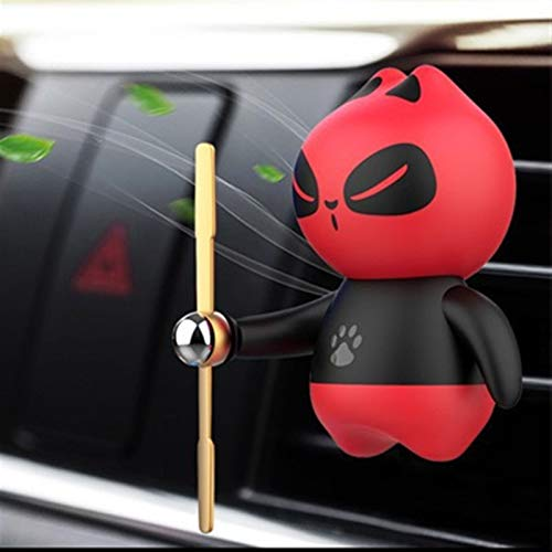 PPCLU Car air freshener Car Air Freshener Car Perfume Scent Clip Refill Fragrance Auto Outlet Vent Car Interior Decoration (Color Name : Red)