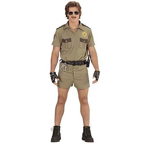 Widmann - Kostüm Kalifornischer Highway Streifenpolizist