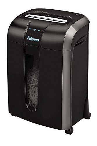 Fellowes Powershred 73 Ci Cross Cut Paper Shredder for the Small or Home Office, 12 Sheet