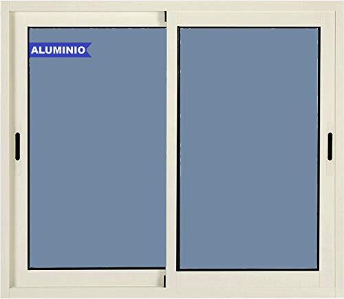 Ventanastock Ventana de Aluminio Corredera 1000 ancho x 600 alto 2 hojas Climalit