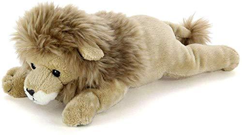 カロラータ ライオン ぬいぐるみ 動物 (ねそべりシリーズ) 15cm×9cm×25cm