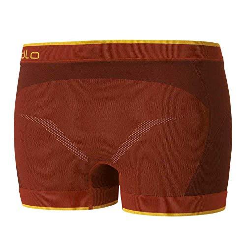 Odlo Evolution Light Greentec Boxer pour Femme Fire Red XL
