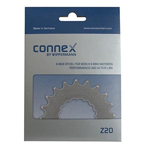 Connex - Corona per Catena Bosch 22 Denti E-Bike Active + Performance Line, Confezione da 1