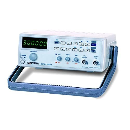GW Instek SFG-1003 DDS Function Generator with 6 Digit LED Display, 0.1Hz to 3MHz Frequency
