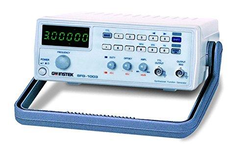 GW Instek SFG-1003 DDS-functiegenerator, met LED-display met 6 cijfers, frequentie: 0,1 Hz - 3 MHz