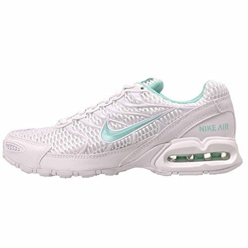 Nike Women's Air Max Torch 4 Running Shoes, White/Hyper Turquoise, White/Mint, 8