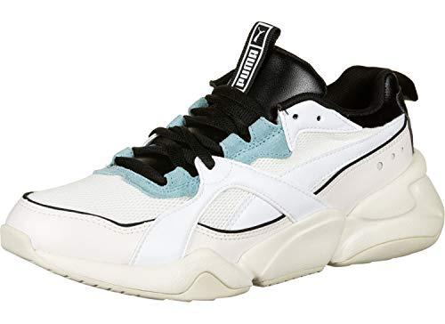 Puma Nova 2 Wn's', Sneaker Donna, Bianco White-Pastel Parchment, 36 EU