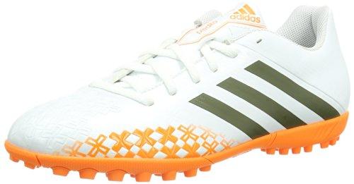 adidas Performance Predito LZ TRX TF, Botas de fútbol Hombre, Blanco-Weiß (Running White FTW/Earth Green S13 / Solar Zest), 44 2/3 EU