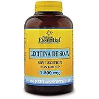 Nature Essential - Lecitina de soja 1200 mg. 150 perlas