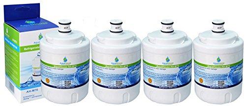 4x AH-M70 kompatibel für Maytag UKF7003 Kühlschrank Wasserfilter, Amana, Jenn-Air, Smeg FRSA, UKF7003AXX, Beko