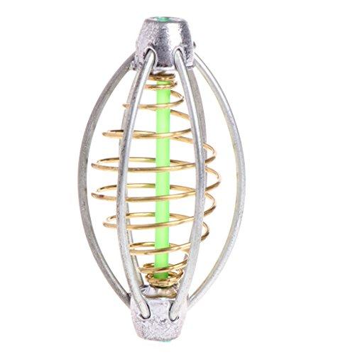 RG-FA - Comedero de 6 cables para pesca de carpa, alimentador de natación, plomo, 5 cm, 6 cm, 7 cm Medium