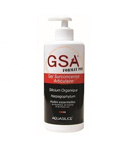 Aquasilice GSA Gel Surconcentré Articulaire Silicium Organique 500 ml