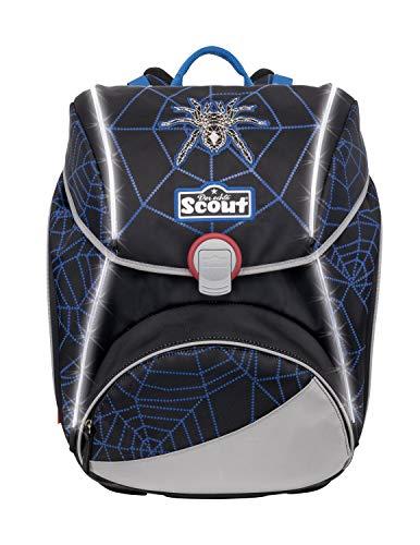 Scout Alpha Safety Light zaino scolastico con accessorio set di 4pz.