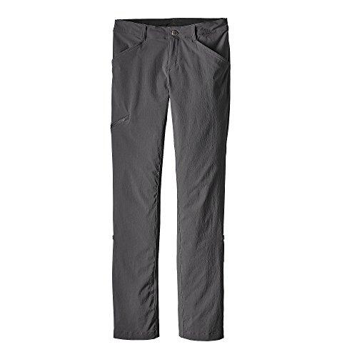 Patagonia W 'S Quandary Short Hose, Damen S grau (Forge Grey)