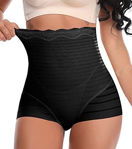 SLIMBELLE Mujer Braguitas Moldeadoras Shapewear Braga Cintura Alta Body Shaper Vientre Plano Pantalón Sin Costura Lencería Glúteos Panty ⭐