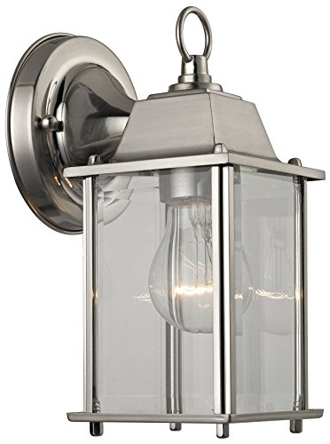 Elk Lighting 9231EW/80 Thomas Lighting Sconce, 5W X 5D X 9H, Brushed Nickel