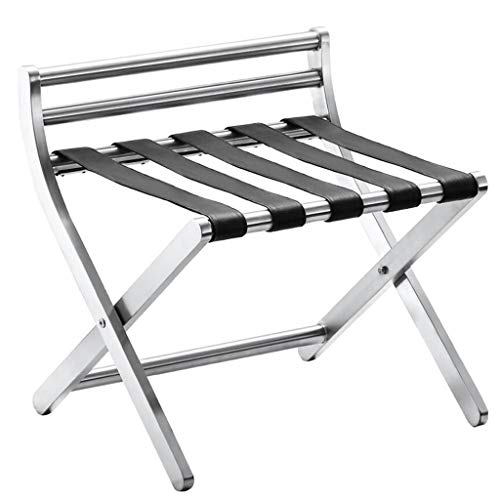 Find Bargain Luggage Rack, Hotel Luggage Rack Metal Folding Luggage Rack Room Shelf