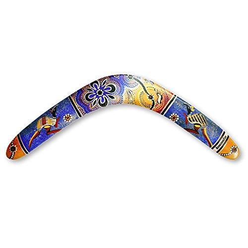 Unbekannt Boomerangfan boomerangfanaboriginal-r rechts 44,5cm Aboriginal Boomerang