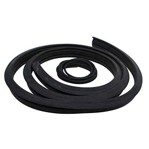Weelparz 6554149 Cord and Rubber Seal 6513152 6665568 6675387 Compatible with Bobcat Skid Steer Loader A300 S130 S220 S250 T110 T140 T180 T190 T200 T250 T300 T320 A220 542 543 553 641 843 853 863