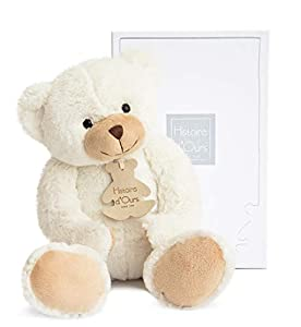 Histoire d'ours HO1157 Calin'Ours - Oso de peluche (tamaño mediano), color marfil