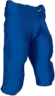 Champro Integrated Football Pants with Built-in Pads - Royal, Adult Medium by Champro+++