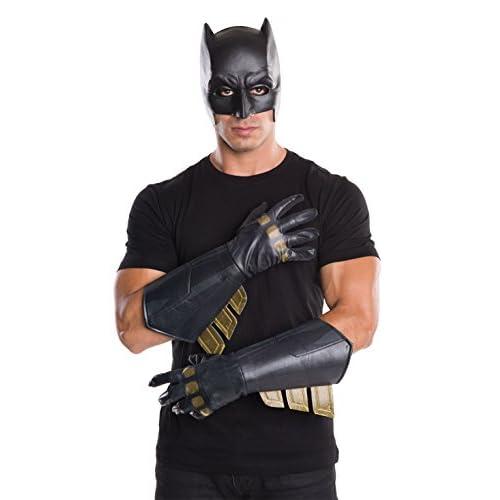 Rubie's Guanti da Batman, accessorio ufficiale del film Dawn of Justice, da adulto