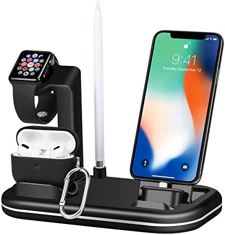 Lxtopdk for Apple Watch Charger Stand 4 in 1 Charger Charging Dock Stand Station for Apple iWatch product image