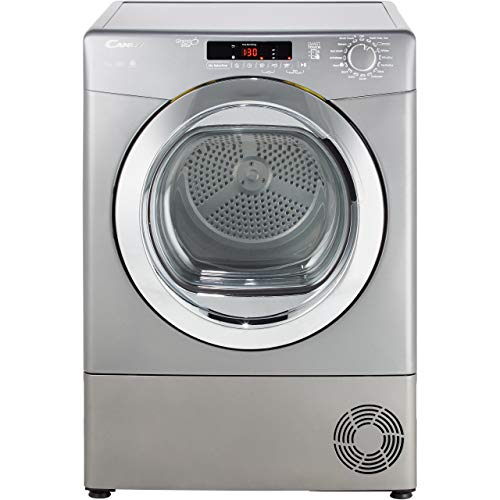 Candy Grand O'Vita GVSC9DCGR Freestanding Condenser Tumble Dryer, Sensor Dry, 9 kg Load, Graphite