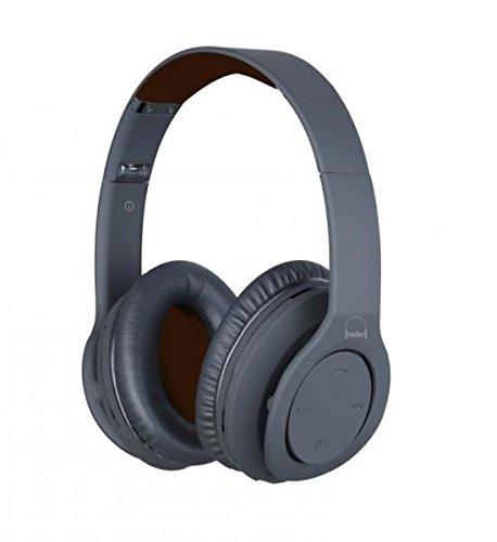 Heden Pro Sound - Auriculares de diadema cerrados con Bluetooth (NFC, 4HP, incluye cable negro),...