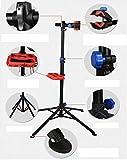 INION MHWOR01 - Fahrrad Montageständer Zentrierständer Reparaturständer 360° höhenverstellbar & zusammenklappbar Werkzeugständer Fahrradständer/chiavi