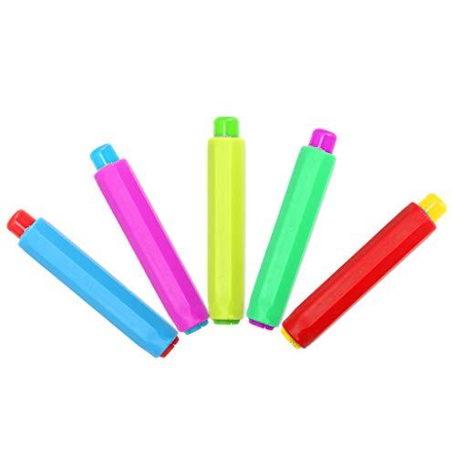 VIccoo Titular de Tiza Soportes de Tiza de Colores Herramienta de educación para Maestros Que no limpian el Polvo y Que ayudan a enseñar