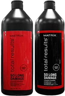 Matrix Total Results So Long Damage Shampoo and Conditioner Duo 33.8oz