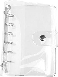 1Pc Transparent PVC Clip File Folder Loose Notebook Sheet R-ing Binder Diary Agenda School Office Supplies