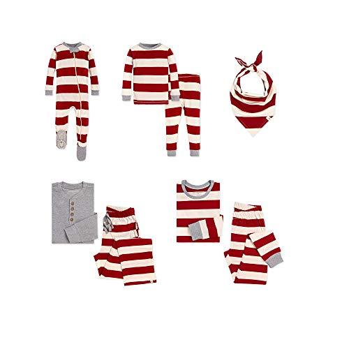 Burt's Bees Baby Family Jammies Matching Holiday Organic Cotton Pajamas