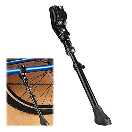 Herramienta para bicicleta, ajustable de aleación de bicicleta, soporte lateral, soporte de bicicleta, soporte de aluminio para bicicleta, herramienta lateral, para bicicletas de 24  26