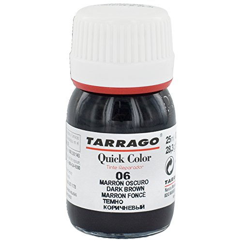Tarrago Quick 25ml, Pinturas y tintes Unisex Adulto, Marrón (Dark Brown 06), 20 mL