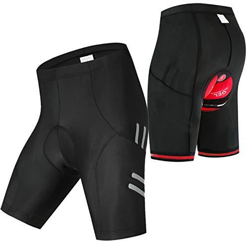 Culotes Ciclismo Hombre,Apretado Pantalon Corto Montaña Hombre,Hombres y Mujeres Verano Culotes Ciclismo...