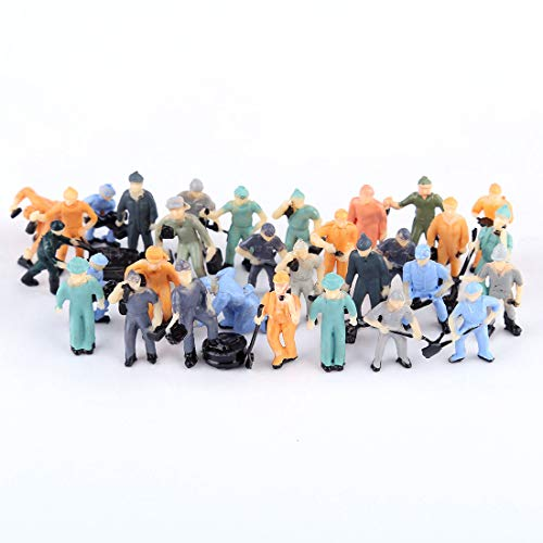 Spieland - Figuren für Modelleisenbahnen in Mehrfarbig, Größe ca.1,4-2,2cm