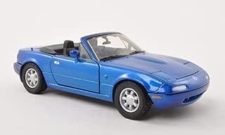 Mazda MX-5 Miata MKI, metallic-blue, 0, Model Car, Ready-made, Motormax 1:24