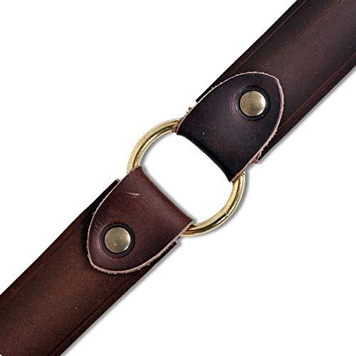 Mittelalterlicher Ring-Gürtel braun - 4