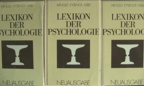 Lexikon der Psychologie .