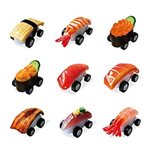 Sushi Boon (9 Pack), the worlds fastest sushi pullback cars. Realistic food replicas made by the experts. Great for kids…
