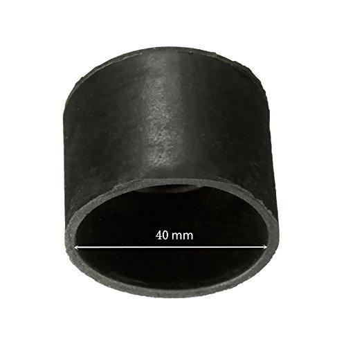 Lot de 4 embouts de protection pour pied de chaise par UxradG - Anti-rayures, protection du sol - 16 mm 19 mm 22 mm 25 mm 32 mm 40 mm 50 mm, As Picture Show, 40 mm