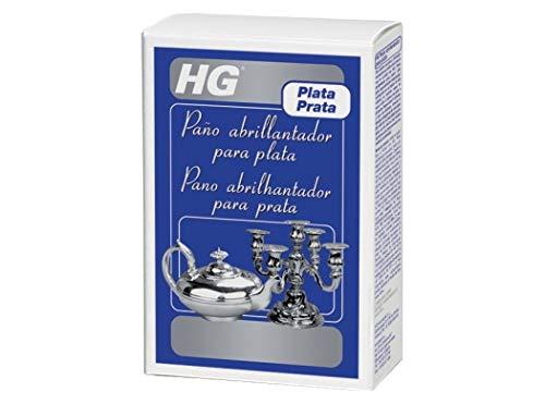 HG Paño abrillantador para plata (1 st.) - es un efectivo paño para pulir plata que puede ser usado para restaurar el brillo de la plata y los objetos plateados (495000130)