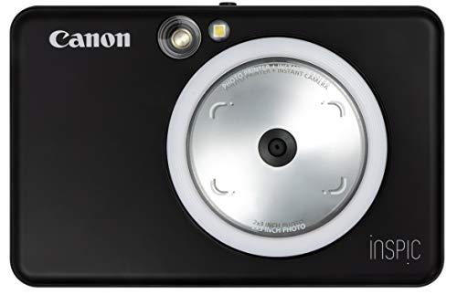 Canon インスタントカメラ スマホプリンター iNSPiC ZV-123-MBK マットブラック