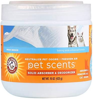 Arm Hammer for Pets Pet Scents Solid Gel Deodorizer in Fresh Breeze Scent Room Deodorizer for product image